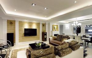139平米混搭风格大户型精致室内装修效果图