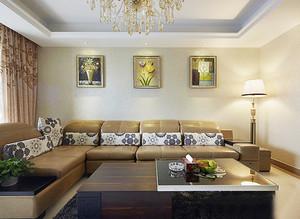 119平米简欧风格精致两室两厅室内装修效果图赏析