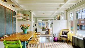 120平米清新风格简约室内装修效果图赏析