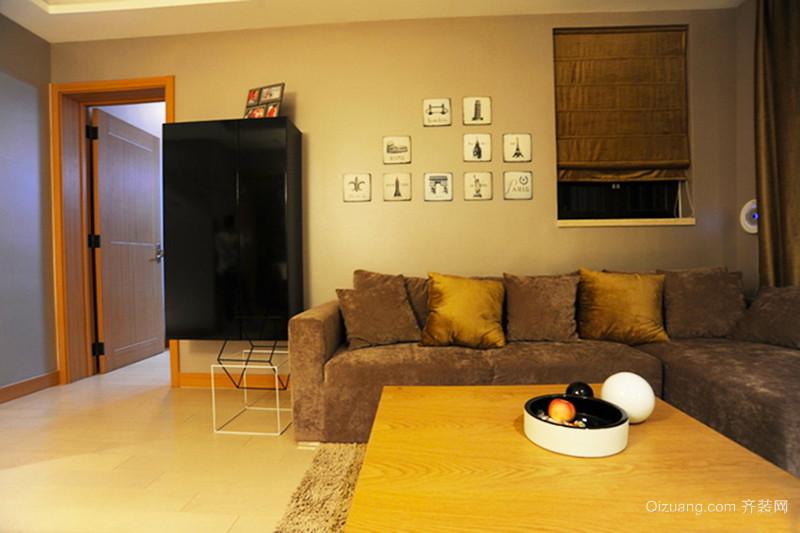 76平米宜家风格简约温馨两室两厅装修效果图赏析