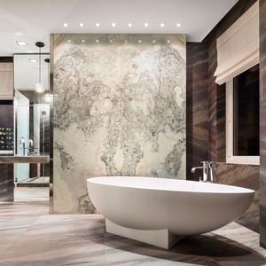 中式风格大户型室内精致卫生间足彩导航效果图