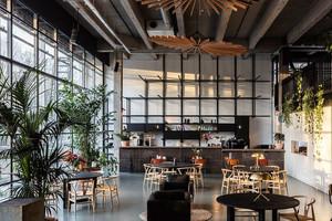 90平米后现代风格餐厅设计装修效果图