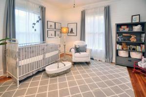 现代美式风格精致婴儿房设计装修效果图赏析