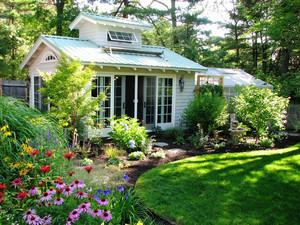 欧式风格自然别墅花园设计装修效果图