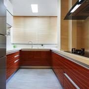 简约风格大户型室内整体厨房装修效果图赏析