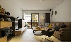 86平米宜家风格原木风两室两厅装修效果图赏析
