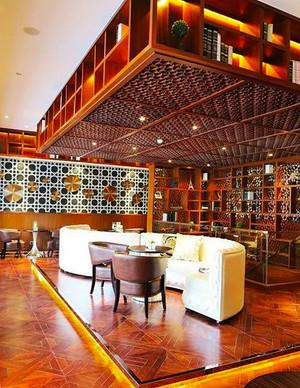 90平米东南亚风格咖啡厅设计装修效果图