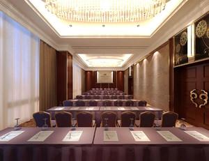 160平米现代风格大型会议室装修效果图赏析