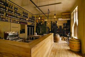 80平民乡村风格精致酒吧设计装修效果图