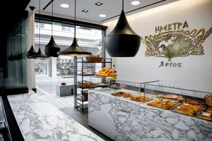 76平米现代风格面包店设计装修效果图赏析