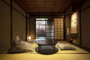日式风格宾馆客房设计装修效果图