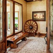 美式乡村风格别墅玄关设计装修效果图赏析