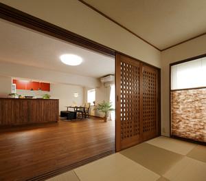 140平米日式风格简约禅意大户型装修效果图案例