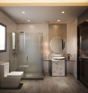现代风格精致豪华卫生间装修效果图大全