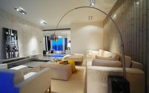 现代简约风格精装客厅装修效果图赏析