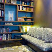 混搭风格精致小书房设计装修效果图赏析