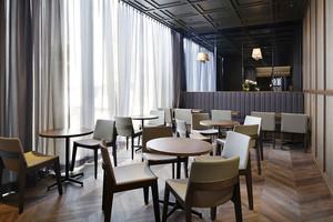 60平米现代风格精致咖啡厅设计装修效果图