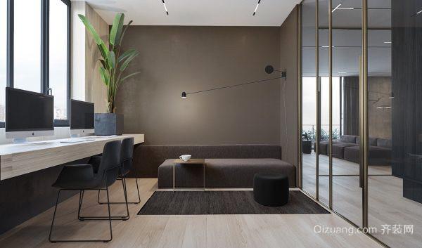 90平米后現代極簡主義風格室內裝修效果圖賞析