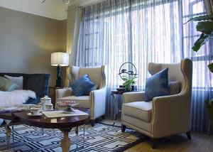 93平米混风格精致两室两厅室内装修效果图赏析