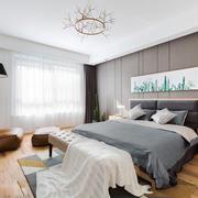 宜家风格简约自然随性卧室装修效果图赏析