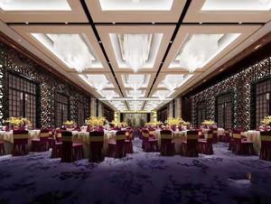 400平米欧式风格酒店餐厅设计装修效果图赏析