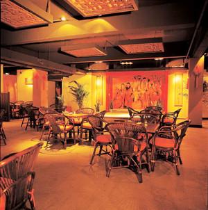 200平米中式风格古韵雅致茶楼设计装修效果图