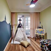 现代风格精致童趣儿童房设计装修效果图赏析
