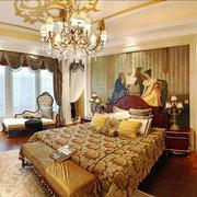 法式风格浪漫精致卧室背景墙装修效果图赏析