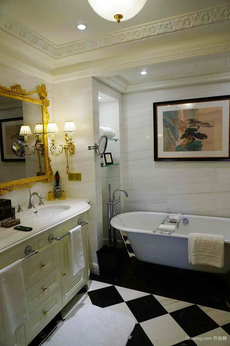 170平米美式风格精致大户型室内装修效果图赏析
