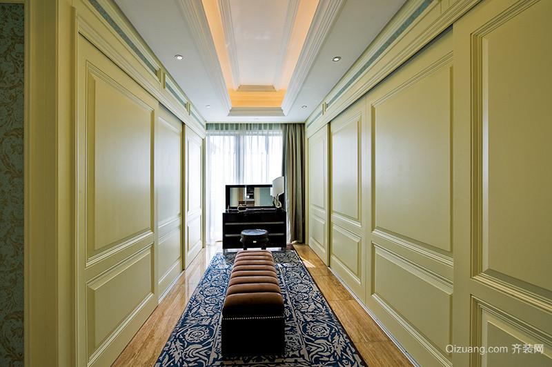 155平米欧式风格奢华宫廷风大户型装修效果图