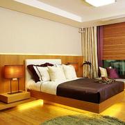 中式风格两居室精致卧室装修效果图赏析