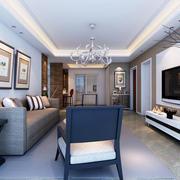 现代风格简约精致客厅设计装修效果图欣赏