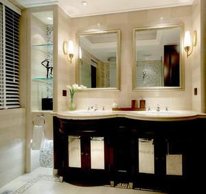 300平米新古典主义风格别墅室内装修效果图赏析