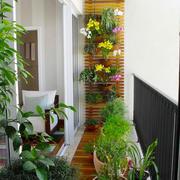 现代简约风格阳台花园设计装修效果图赏析