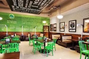 混搭风格时尚个性餐厅设计装修效果图