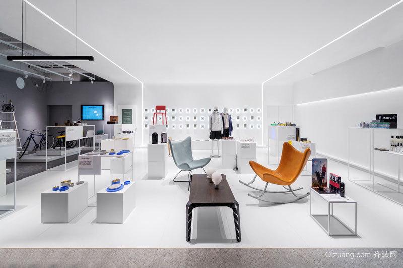 140平米现代简约风格服装店设计装修效果图赏析