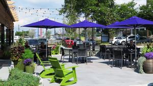 简约风格户外咖啡厅设计装修效果图赏析