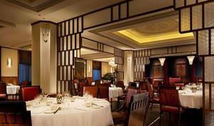 中式风格精致典雅酒店餐厅装修效果图赏析