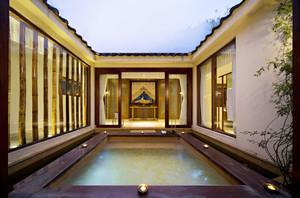 中式风格别致雅韵度假酒店装修效果图