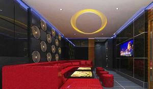 67平米现代风格KTV包房设计装修效果图