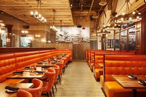美式风格时尚创意西餐厅设计装修效果图欣赏