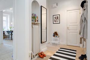 90平米北欧风格白色精致室内装修效果图赏析