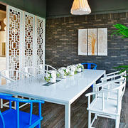 现代风格时尚创意餐厅设计装修效果图赏析