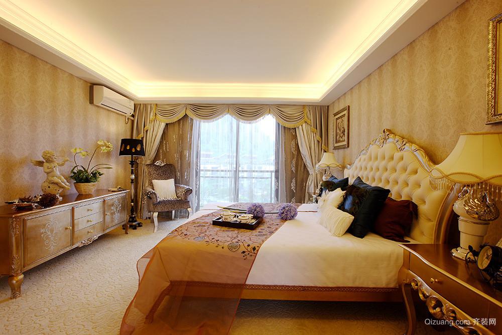 300平米欧式轻奢别墅室内装修效果图案例