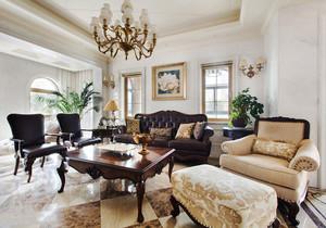 欧式风格别墅大气精致客厅装修效果图赏析