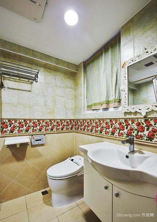 133平米田园风格清新四室两厅室内装修效果图