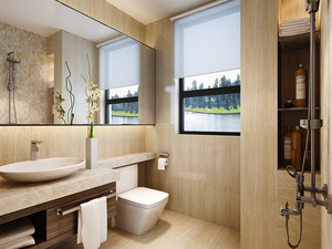 85平米宜家风格简约两室两厅室内装修效果图