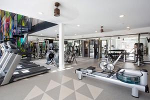 150平米现代简约风格健身房设计装修效果图