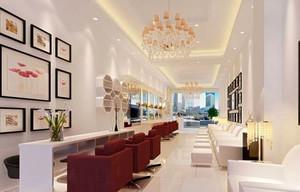 120平米简欧风格美容院设计装修效果图赏析