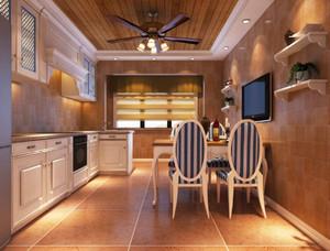 地中海风格混搭精致厨房餐厅装修效果图赏析